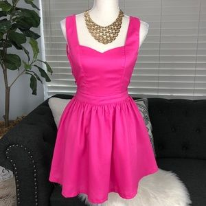 Tea n Cup Dresses - ADORABLE BUBBLE GUM PINK DRESS multi strap back